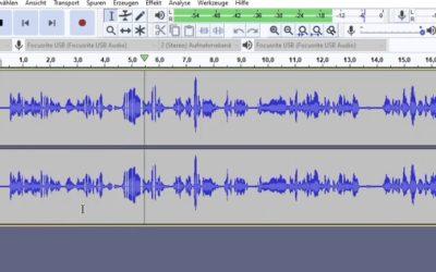 Podcast Aufnahme retten: Qualität verbessern wenn es rauscht, stottert oder dumpf klingt